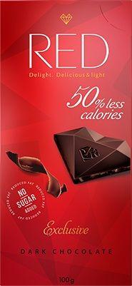 RED Hořká Schokolade