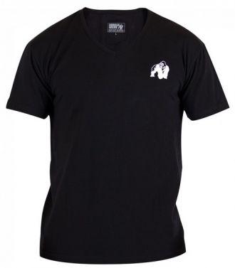 GORILLA WEAR Essential V-Neck T-Shirt Black