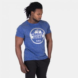 GORILLA WEAR Rocklin T-shirt - Royal Blue