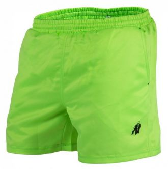 GORILLA WEAR Miami Shorts Neon Lime