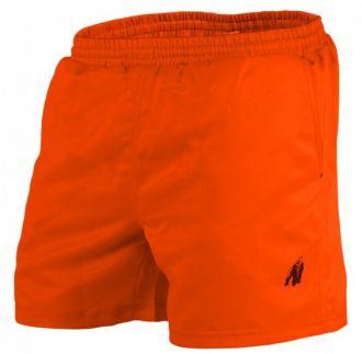 GORILLA WEAR Miami Shorts Neon Orange