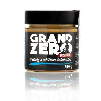 BIG BOY® Grand Zero Erdnuss mit MILCHSCHOKOLADE 250g