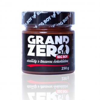 BIG BOY® Grand Zero Erdnuss mit DARK CHOCOLATE 250g