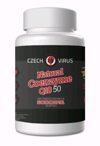 Czech Virus NATURAL COENZYME Q10 50