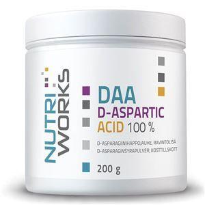 NutriWorks DAA D-Aspartic Acid