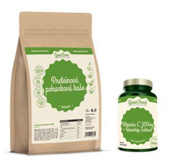 GreenFood Nutrition Buchweizen Protein Brei Glutenfrei