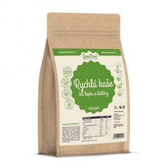 GreenFood Nutrition Schneller Brei Glutenfreie und Laktosefreie Hafer