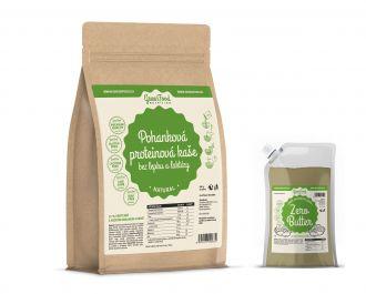GreenFood Nutrition Protein Brei glutenfreie Glutenfreie und Laktosefreie LOW CARB