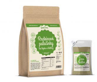 GreenFood Nutrition Protein Pancake Glutenfreie und Laktosefreie Reis