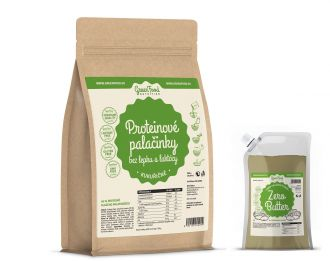 GreenFood Nutrition Protein Pancake Glutenfreie und Laktosefreie Mais