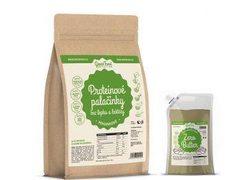 GreenFood Nutrition Protein Pancake Glutenfreie und Laktosefreie Buchweizen