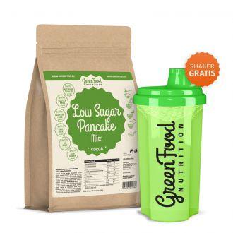 GreenFood Nutrition LOW CARB Pancakes Glutenfreie und Laktosefreie