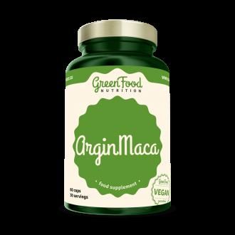 GreenFood Nutrition ArginMaca vegan caps
