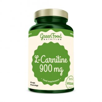 GreenFood Nutrition Carnitin vegan caps