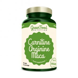 GreenFood Nutrition Carnitin Arginin Maca vegan caps