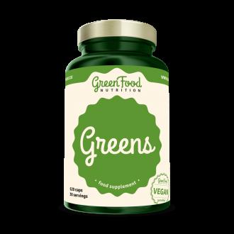 GreenFood Nutrition Greens vegan caps