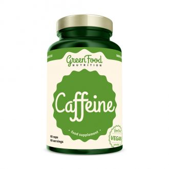 GreenFood Nutrition Kofein vegan caps