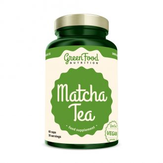 GreenFood Nutrition Matcha Tea vegan caps
