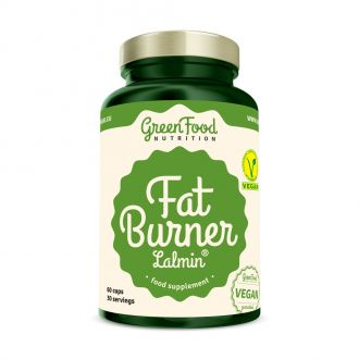 GreenFood Nutrition Fat Burner vegan caps