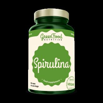GreenFood Nutrition Spirulina vegan caps