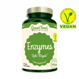 GreenFood Nutrition Enzymes Opti 7 Digest vegan caps
