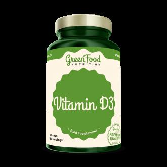 GreenFood Nutrition Vitamin D3 vegan caps