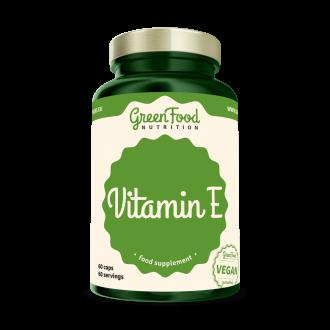 GreenFood Nutrition Vitamin E vegan caps