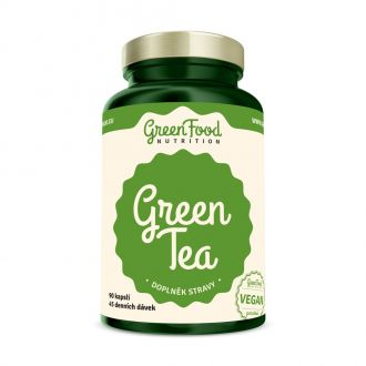 GreenFood Nutrition Green Tea vegan Caps