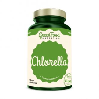 GreenFood Nutrition Chlorella vegan caps