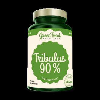 GreenFood Nutrition Tribulus 90% vegan Caps
