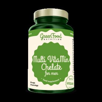 GreenFood Nutrition Multi VitaMine Chelate für Man
