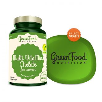 GreenFood Nutrition Multi VitaMin Chelate für Frauen