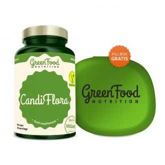 GreenFood Nutrition CandiFlora vegan caps