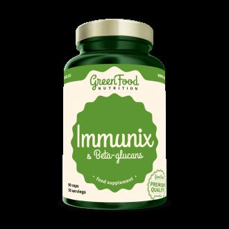 GreenFood Nutrition Imunix mit Beta-Glucanen vegan caps