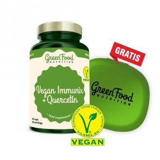 GreenFood Nutrition Vegan Immunix + Quercetin