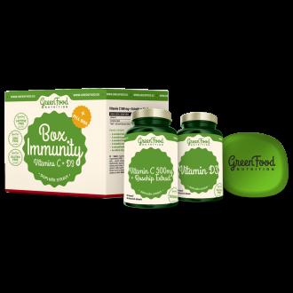 GreenFood Nutrition Box Immunity + Pillbox