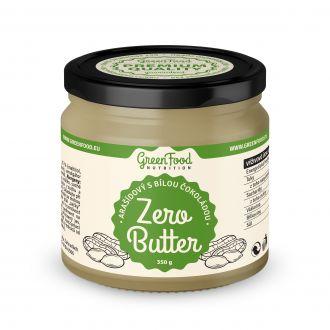 GreenFood Nutrition ZERO BUTTER Erdnüsse mit weißer Schokolade