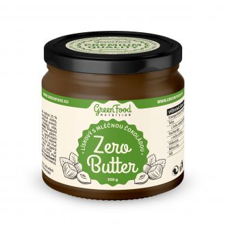 GreenFood Nutrition ZERO BUTTER Haselnuss mit Milchschokolade