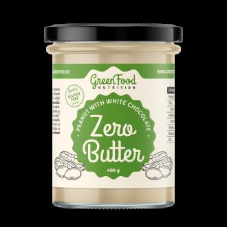 GreenFood Nutrition Zero Butter Erdnusscreme mit weißer Schokolade