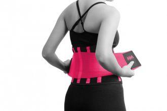 MADMAX Slimming Belt pink, Velikost L