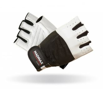 MADMAX Fitness Handschuh CLASIC WHITE
