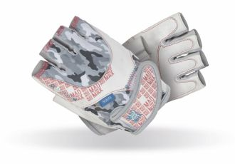 MADMAX Fitness Handschuh NO MATTER WHITE, Velikost L
