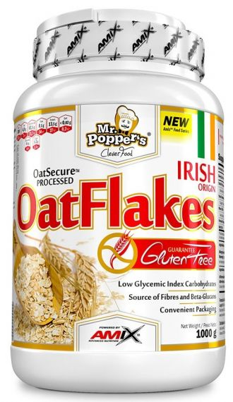 Mr Poppers Gluten Free Oat flakes