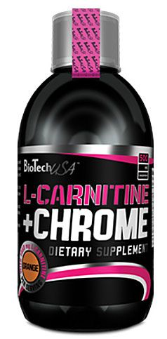 BioTech L-CARNITINE + CHROME LIQUID