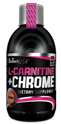 BioTech L-CARNITINE + CHROME LIQUID