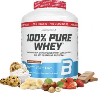 BioTech 100% Pure Whey Protein + 20% GRATIS + BioTech shaker 600ml