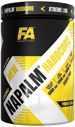 Fitness Authority Xtreme Napalm Hardcore + BCAA + Shaker