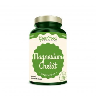 GreenFood Nutrition Magnesium Chelated vegan caps