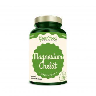 GreenFood Nutrition Magnesium Chelated vegan caps