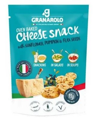 Granarolo Oven Baked CHEESE SNACK with Seeds
